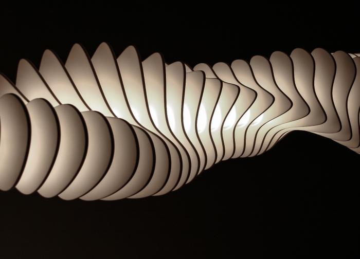Design lámpa Design lamp Shelfordii